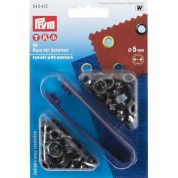 ringen met schijven 5mm oudijzer