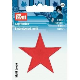 Applicatie ster rood